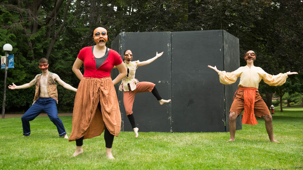 "Western Washington University Department of Theatre and Dance presents ""Commedia in the Park"" directed by Rich Brown, at 6 p.m. on July 18-20 in Maritime Heritage Park located at 500 W. Holly Street in Bellingham."
