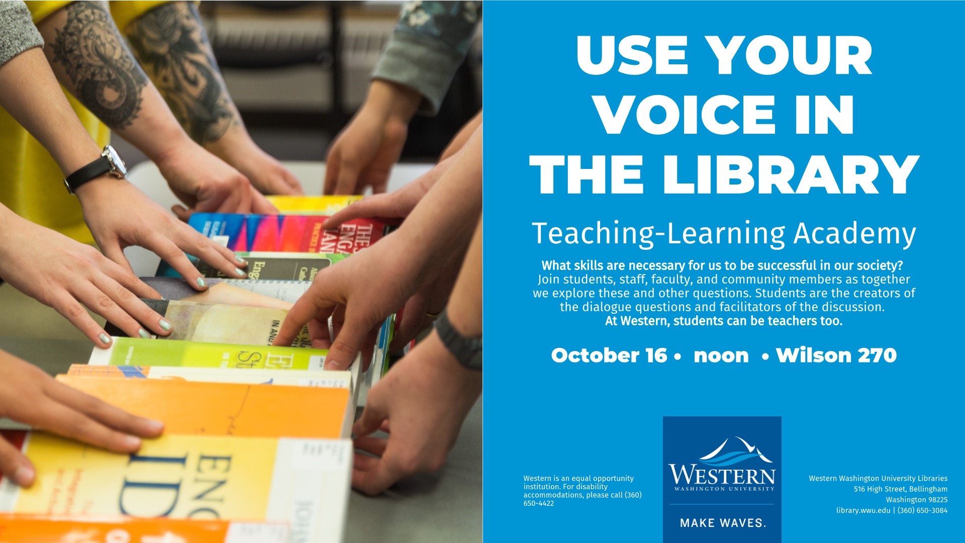 The TLA dialogues start next week - sign up now!