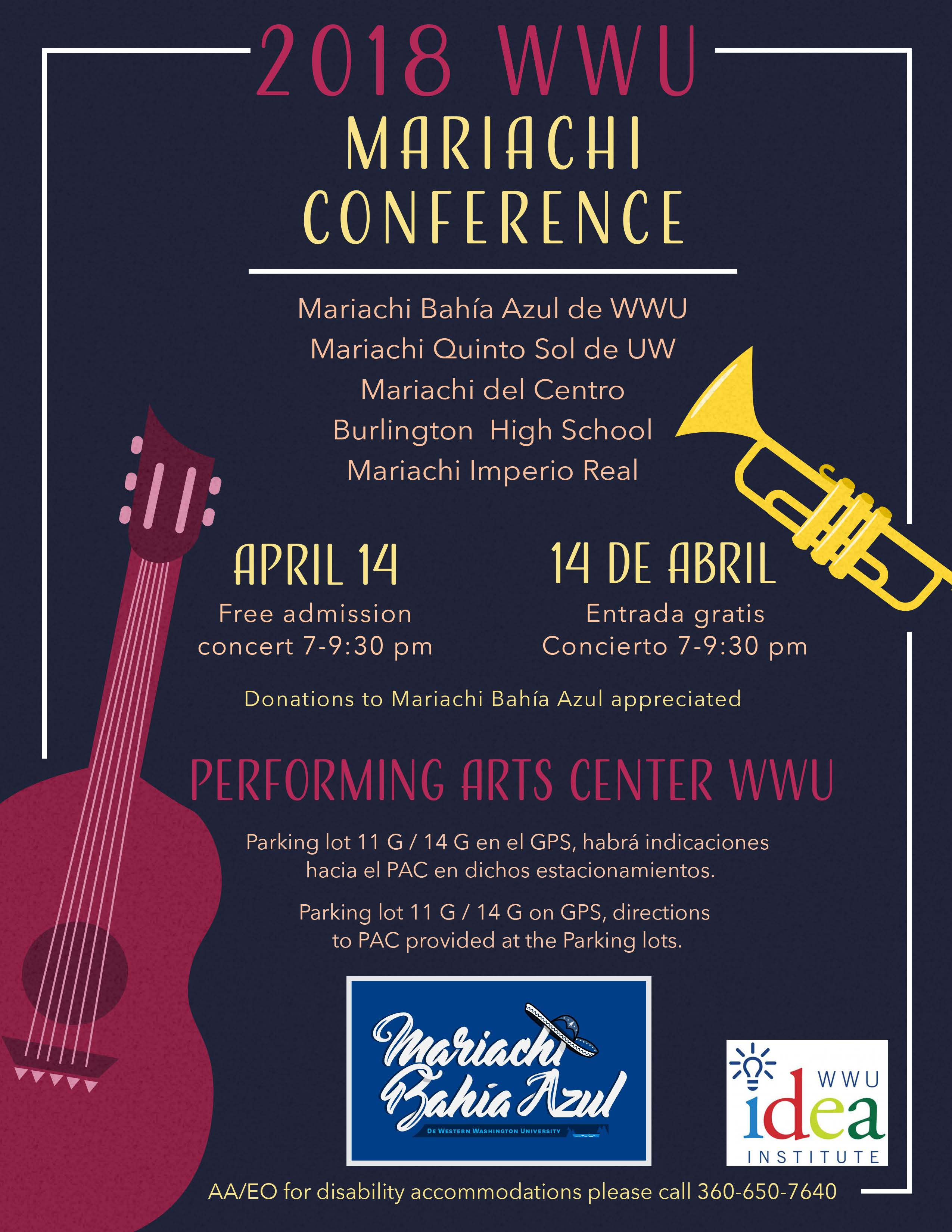 mariachi conference poster