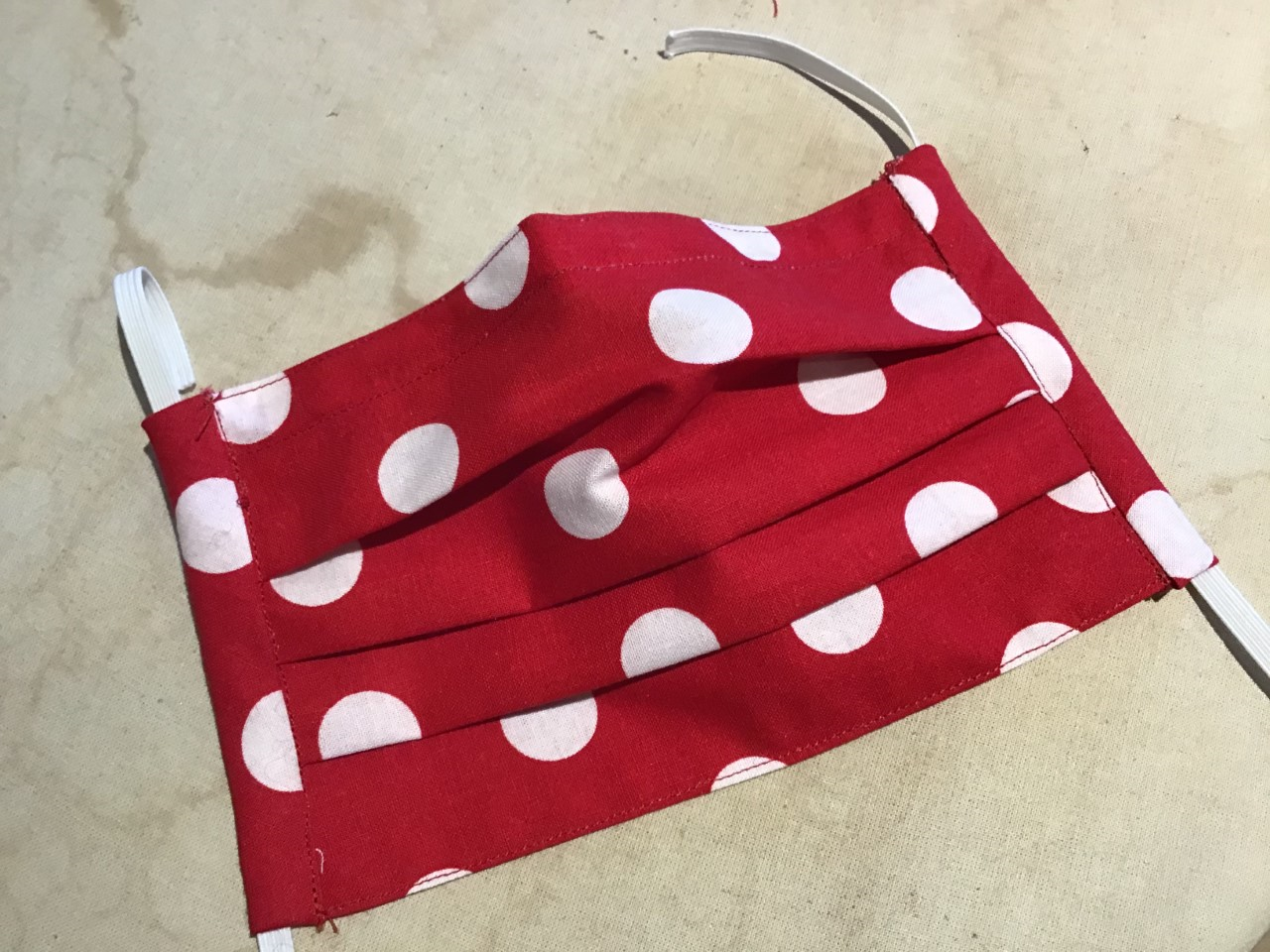 a home-made surgical mask