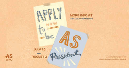 Apply to be the next AS President