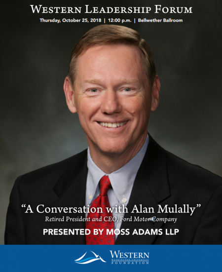 Alan Mulally to speak at WLF Oct. 25