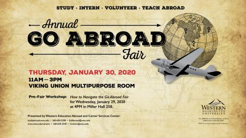 The annual Go Abroad Fair is set for Jan. 30