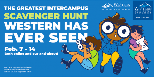 """Participate in the """"Greatest Intercampus Scavenger Hunt Western Has Ever Seen"""" Feb. 7-14"""