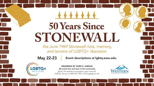 WWU Events Mark 50th Anniversary of the Stonewall Riots