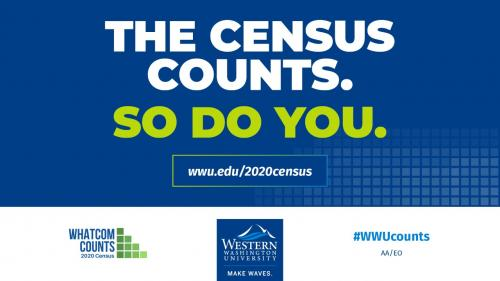 Find out more at wwu.edu/2020census