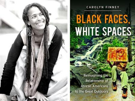 Carolyn Finney photo and book cover image