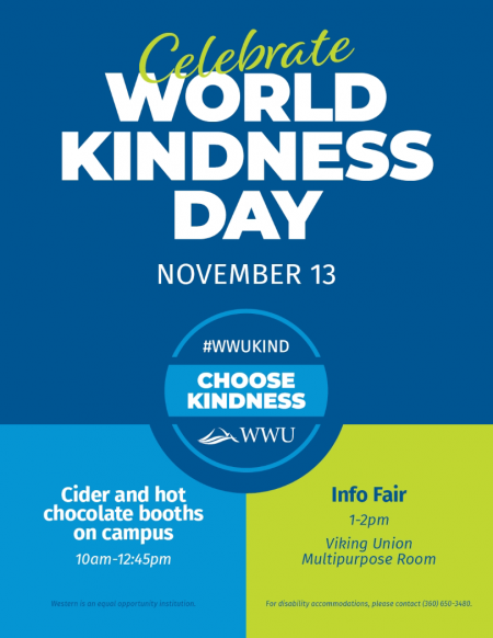 Kindness Day set for Nov. 13