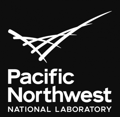 Pacific Northwest National Laboratory black and white decorative logo