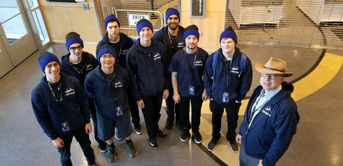 Western Washington University's cybersecurity team won second place in the Pacific Rim Collegiate Cyber Defense Competition on March, 22; the two-day competition was held at Highline Community College.