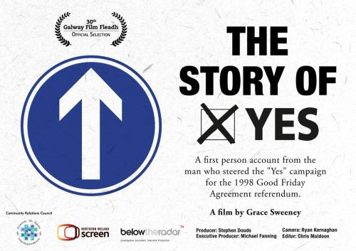 "film poster for ""the Story of Yes"""