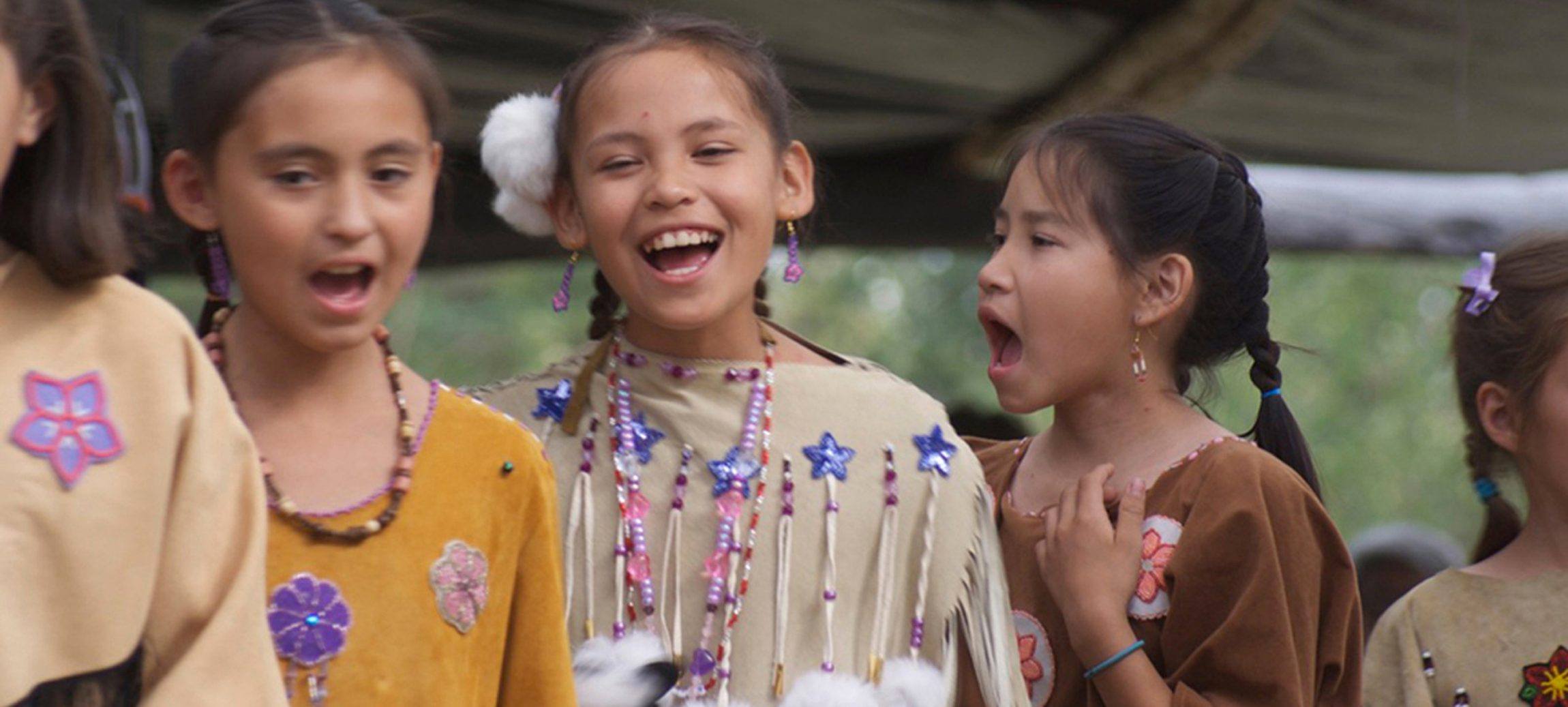 """""""The Sacred Place Where Life Begins"""" tells the story of the women of the Gwich'in Alaska Native peoples and their efforts to speak out for their sacred land in the Arctic National Wildlife Refuge."""