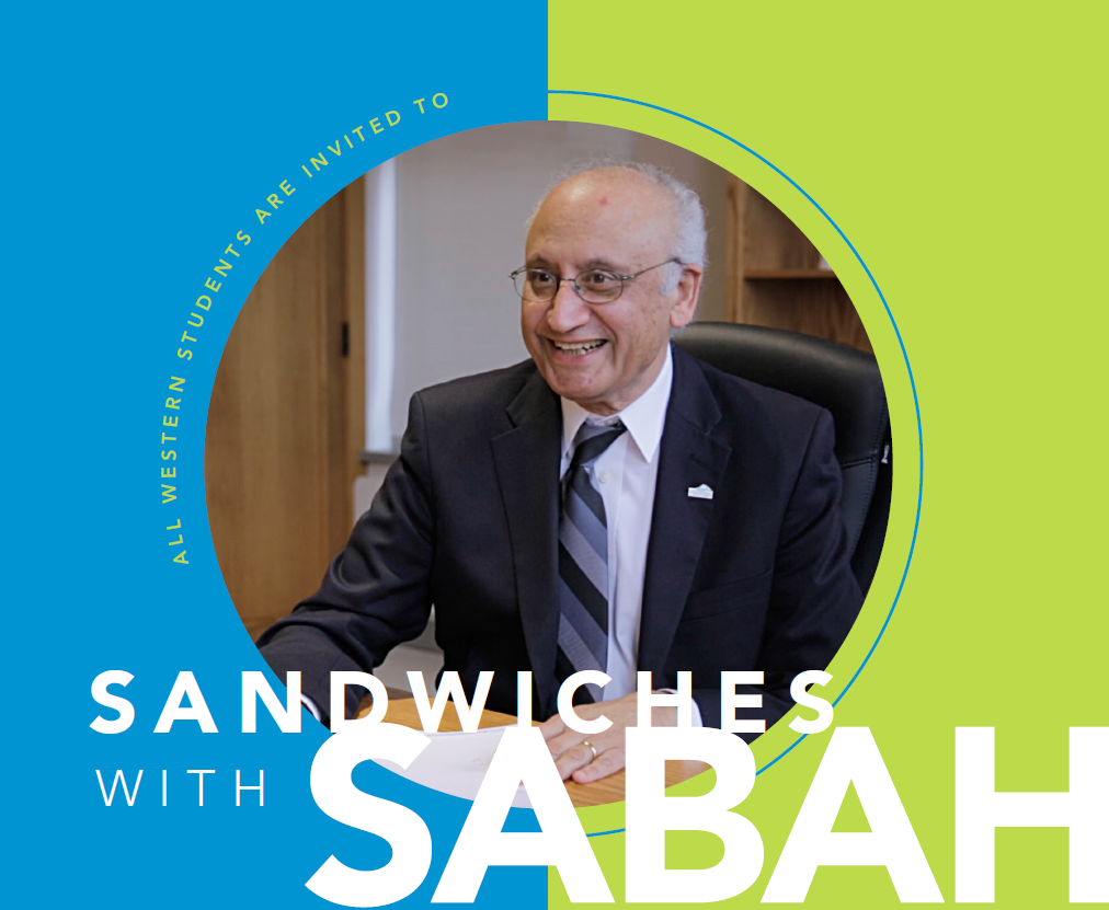 'Sandwiches with Sabah' set for May 9