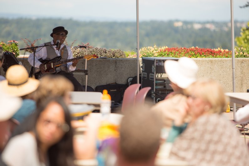 Wes Mackey plays the Summer Noon Concert Series July 6. Photo: Jonathan Williams / WWU