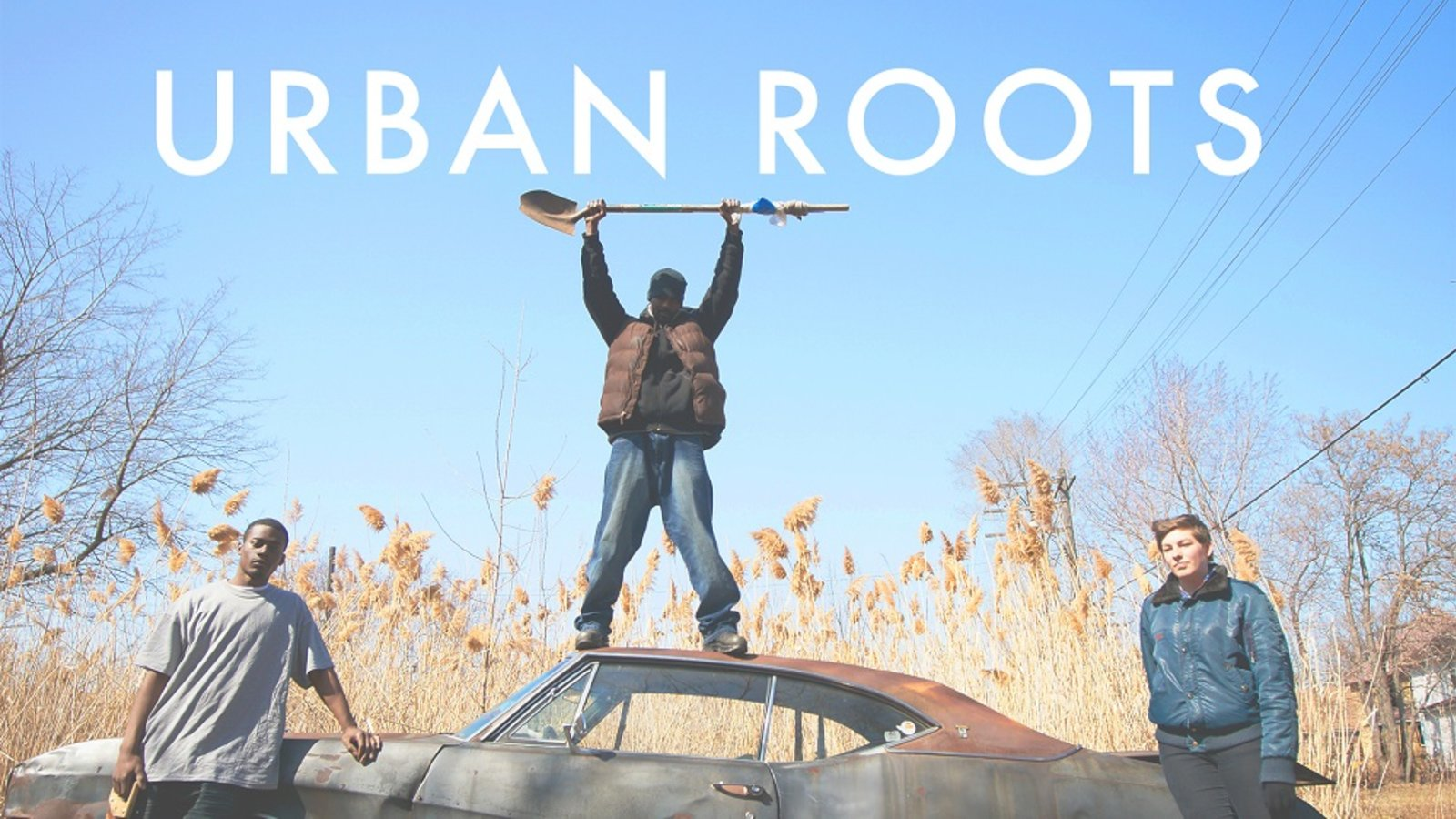 "Movie still from the documentary ""Urban Roots"" about inner-city gardening in Detroit"